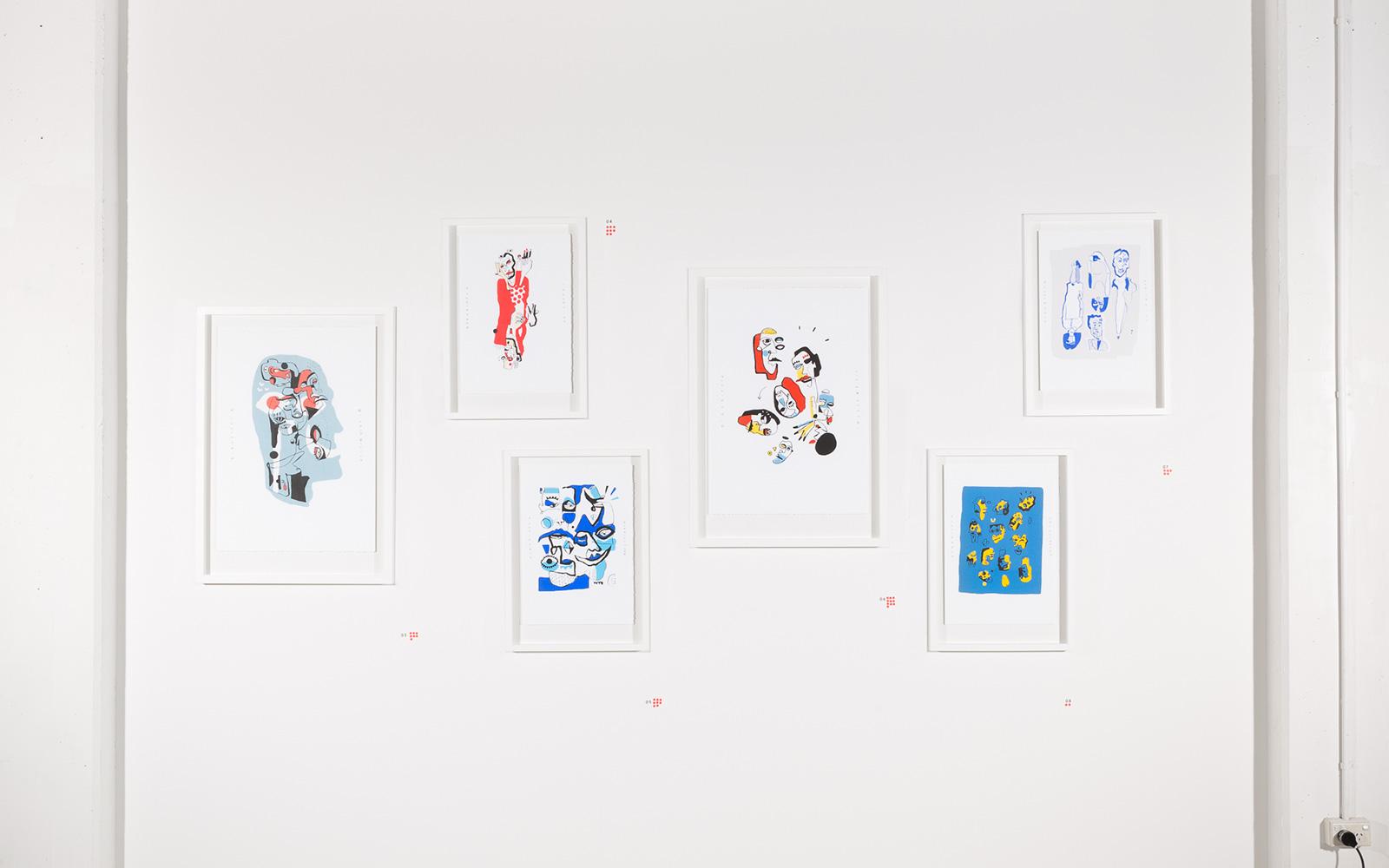 Print wall 1/10 editions