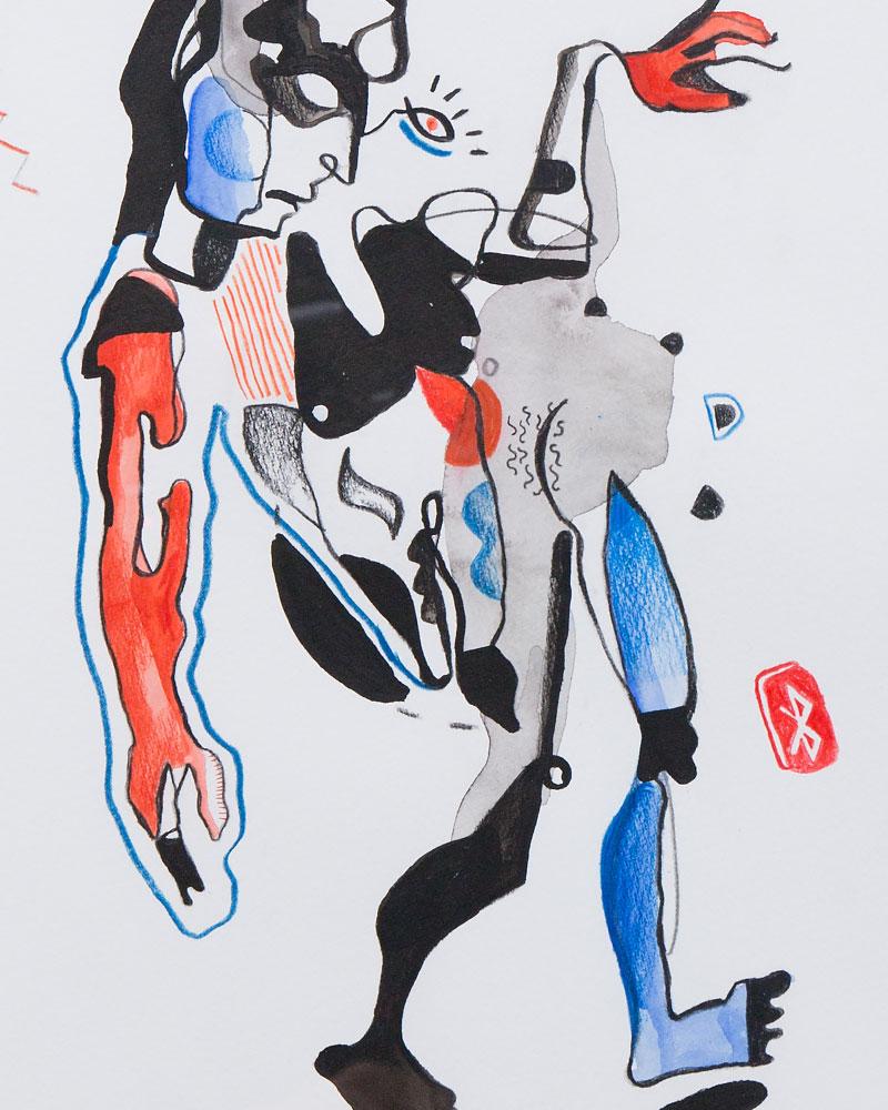 400mm x 550mm / Watercolour, Ink, Pencil / Cold press paper